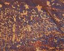 """The Petroglyphs shown on ""Newspaper Rock"" were created by several ancient cultures beginning over 1"